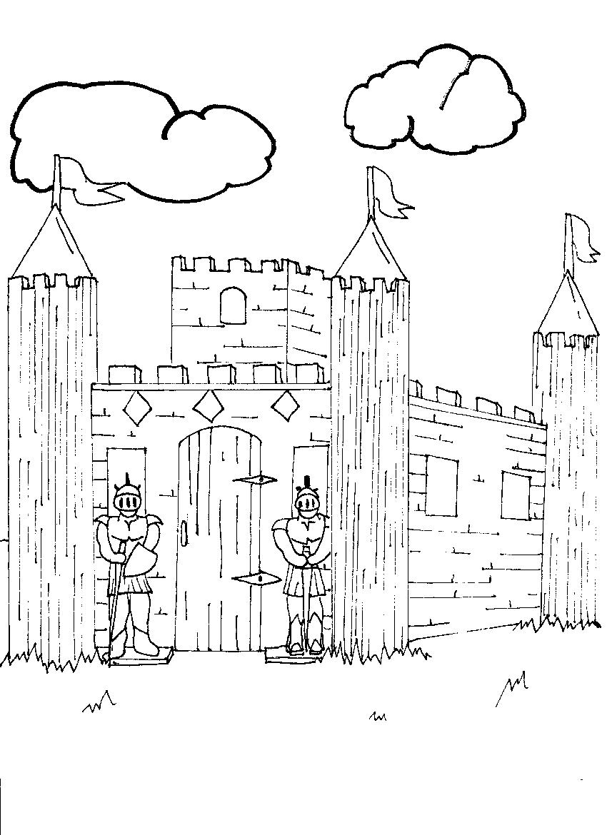 free coloring pages of the alamo