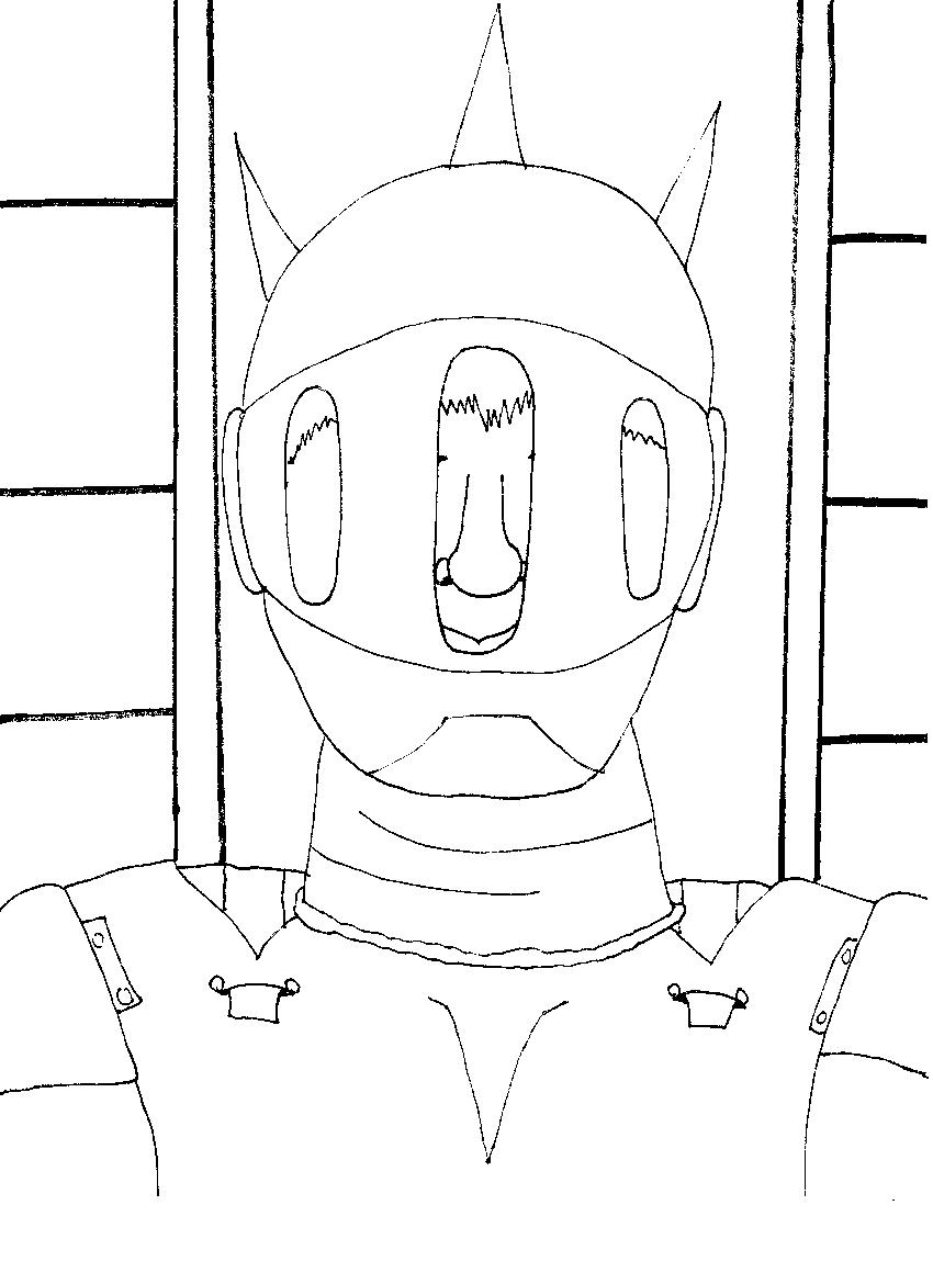 q tip coloring pages - photo #43